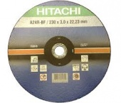 Круг зачистной 125х6х22,23 А24/30Р-BF  HITACHI  Germani  синие (8х10=80)